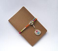 Moleskine Notebook kraft by maricatimonsina