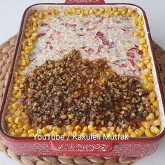 Misafir sofralarınız icin şık olduğu kadar, lezzetiyle de konuşan bir tarif oldu😋. Yiyenler de cok begendi❤ Kat kat lezzetli👏 Yani buna sadece patates salatası demek biraz haksızlık olur bence😂 Youtube kanalıma ekledim uzun videoyu😍 Dileyenler sesli olarak profildeki linkten izleyebilir😉 Izlerken bi... Turkish Recipes, Ethnic Recipes, Salad Recipes, Dessert Recipes, Granola, Macaroni And Cheese, Food And Drink, Appetizers, Cooking Recipes