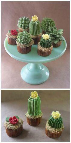 Cacti Cupcakes to go with Radiator Springs CARS Theme