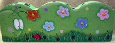 The Decorative Painting Store: Caterpillar Landscape Border DOWNLOAD, Newly Added Pattern Packets