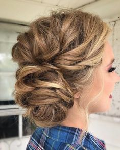 wedding hairstyle inspiration,Messy Wedding Hair Updos For A Gorgeous Rustic Country Wedding,messy updo hairstyles,bridal hairstyle ideas,wedding hairstyle ideas,wedding hairstyles,bridal updo with braids #BridalHairstyle