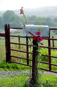Country Living (via Épinglé par Gwen Urban sur gates, walls n fences | Pinterest)