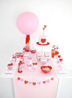 Saint Valentin Kit de Fête Printables