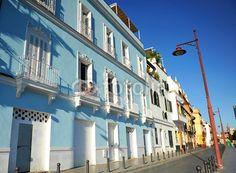 Betis street, Triana, Seville, Spain