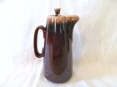 Tall Vintage Midcentury Hull Pitcher Brown by DaisyLaceVintage