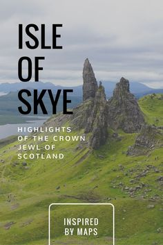 A cheat-sheet for the Highlights of Isle of Skye in Scotland travel! See the Skye Scotland Fairies! Nicknamed Cloud Island you can see the Sligachan Old Bridge, Fairy Pools, Portree, the Old Man of Storr, Elgol Beach, Kilt Waterfall, Staffin Beach and its Dinosaur Footprints, the Quiraing Vista, Fairy Glen, Neist Point, Fairy Bridge, castles, and the scottish highlands. Travel in Europe.