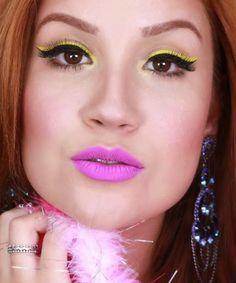 Make Rosa: Inspiração: Maquiagem Para O Carnaval Bianca Andrade
