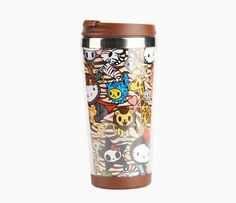 tokidoki x Sanrio Hello Kitty Stainless Steel Mug - 2015 Summer Safari Collection