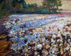Cotton Fields By Barry Thomas, Artist Little Rock, Arkansas One of My Favorites