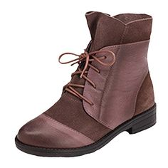 d232d125784b30 MatchLife Women s Lace Up Martens Boots Leather Shoes  Amazon.co.uk  Shoes    Bags