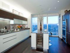 Kitchen in The Residences at Mandarin Oriental Las Vegas condo for sale $1,578,000, 2 bedroom, 2.5 bath