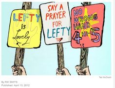 Lefties Aren't Special After All -  Pinned by @PediaStaff – Please Visit http://ht.ly/63sNt for all our pediatric therapy pins