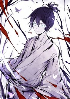 Tags: Anime, Pixiv Id 5743497, Noragami, Yato (Noragami), Yukata