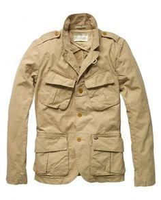 Scotch & Soda Army Blazer - Must Add to Clothing Collection