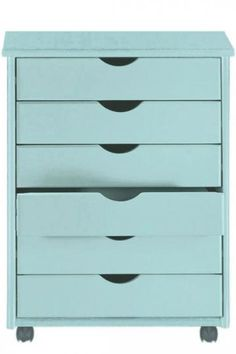 Stanton 6-Drawer Wide Cart - Storage Carts & Chests - Storage & Organization - Home Decor | HomeDecorators.com
