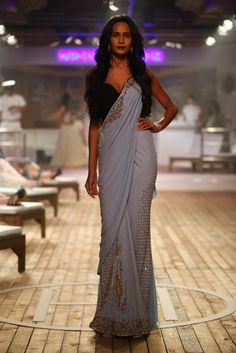 #ICW #AICW2015 #AICW #fdci #sunar #monishajaisingh #sailing bride #resortwear #bridal #indianbridal #weddingfashion #sari #sexy #sensual #elegant