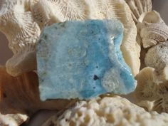 Larimar Slab 32  Twin Flame Stone by astarteearthart on Etsy there's a tiny heart in this one!