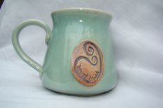birth mug.  love!