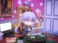 good_smile_company houbunsha nendoron nendoroid tokunou_shoutarou katahara_itashi new_game! suzukaze_aoba