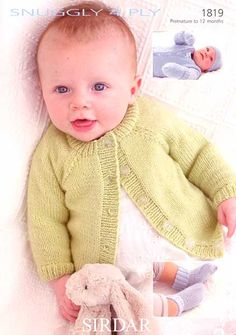 Newest free sirdar knitting patterns for babies . JERNOES - Crochet and Knit Baby Knitting Patterns Free Newborn, Sirdar Knitting Patterns, Baby Cardigan Knitting Pattern Free, Baby Sweater Patterns, Baby Boy Knitting, Knit Baby Sweaters, Knitting For Kids, Baby Patterns, Free Knitting