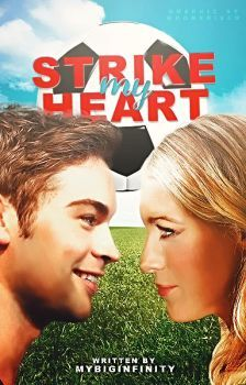 Strike My Heart // Book Cover by moonxriver