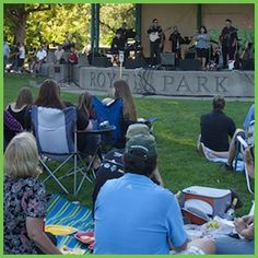Music in the Park at Royer Park Roseville CA