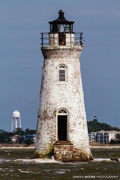 Cockspur Island Lighthouse, Savannah River, Georgia