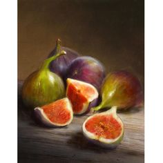 Purchase paintings from Robert Papp. All Robert Papp paintings are ready to ship within 3 - 4 business days and include a money-back guarantee. Collection: Cooks Illustrated Still Life Art Canvas Art, Canvas Prints, Art Prints, Framed Prints, Buy Canvas, Still Life Fruit, Fruit Painting, Fresh Figs, Painting Still Life