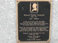 8. H.P. Lovecraft Museum, Providence