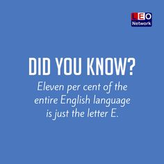 That's a lot of 'E' :)