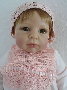 Softness & Lace Lee Middleton Doll by Eva Helland