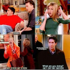 When everyone got to know about Monica & Chandler #friends #comedycentral
