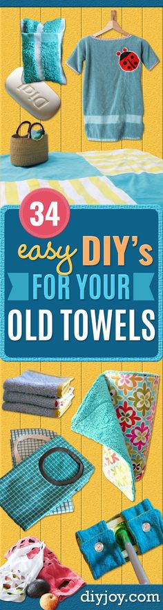 DIY Ideas With Old T