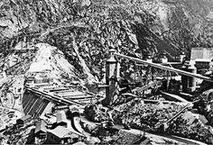 Albigna dam construction. #Bregaglia #Bergell #labregaglia #dam