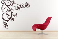 Decoración de salas con vinilos - Para Más Información Ingresa en: http://fotosdecasasbonitas.com/decoracion-de-salas-con-vinilos/