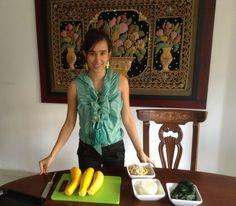 Unos raviolis con vegetales y super sencillos de hacer!