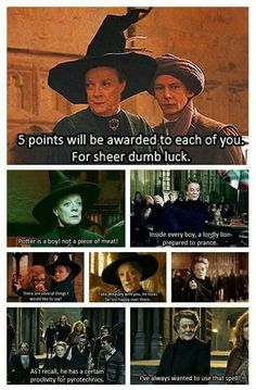 Mcgonagall is literally the best