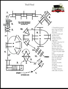 Try this tricky trail pattern from the finals at #aqhyaworld.