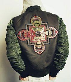BAL x Alpha MA-1 Jacket