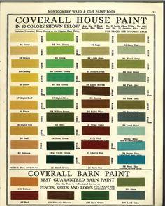 Then, Now & Forever  The Art Deco, Art Moderne & Beaux Arts. House Paint  ColoursPaint ...