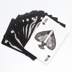 Playing cards from The McKittrick.