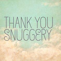 #snuggery #gratitude