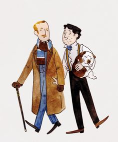 """Out for a Walk"" by ghostbees Sherlock Fandom, Sherlock John, Sherlock Holmes, Literary Characters, Movie Characters, John Watson, Johnlock, Warner Bros Movies, Holmes Movie"