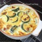 calabacines-al-horno Veggie Recipes, Mexican Food Recipes, Real Food Recipes, Vegetarian Recipes, Healthy Recipes, Kitchen Recipes, Gourmet Recipes, Cooking Recipes, Eating Too Much Protein