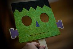 Frankenstein mask - Trick or Treat time