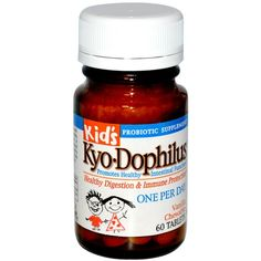 Buy Wakunaga-Kyoli Kid's Kyo-Dophilus Vanilla Chewable 60 Tablets at Megavitamins Supplement Store Australia,Discount on volume available. Learn more - where to buy and what are the pros & Cons Kyo-Dophilus Vanilla Chewable 60Tablets.