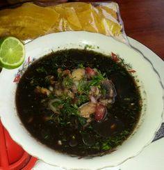 Ceviche.de concha. Ecuadorian food