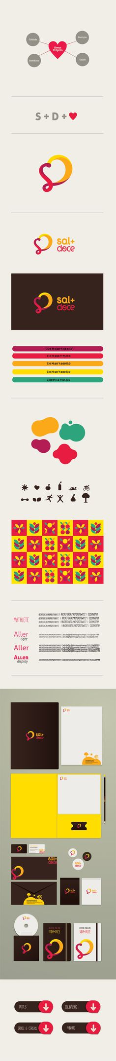 Sal + Doce by Amanda Louisi, via Behance