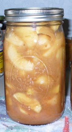 Caramel Apple Pie Filling (Oamc)