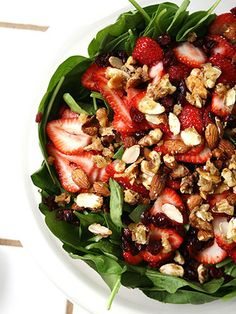 10 Delicious and Filling Salad Dinners [ SkinnyFoxDetox.com ] #salad #skinny #health